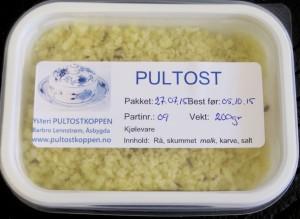 PULTOST-FORPAKNING